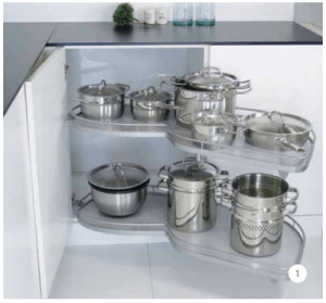 Smart kitchen storage from Sheraton Kitchens